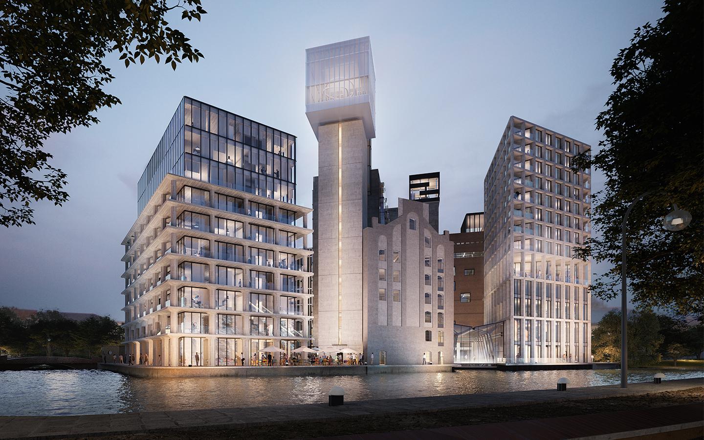 De Meelfabriek een project van Van der Wiel Bouw