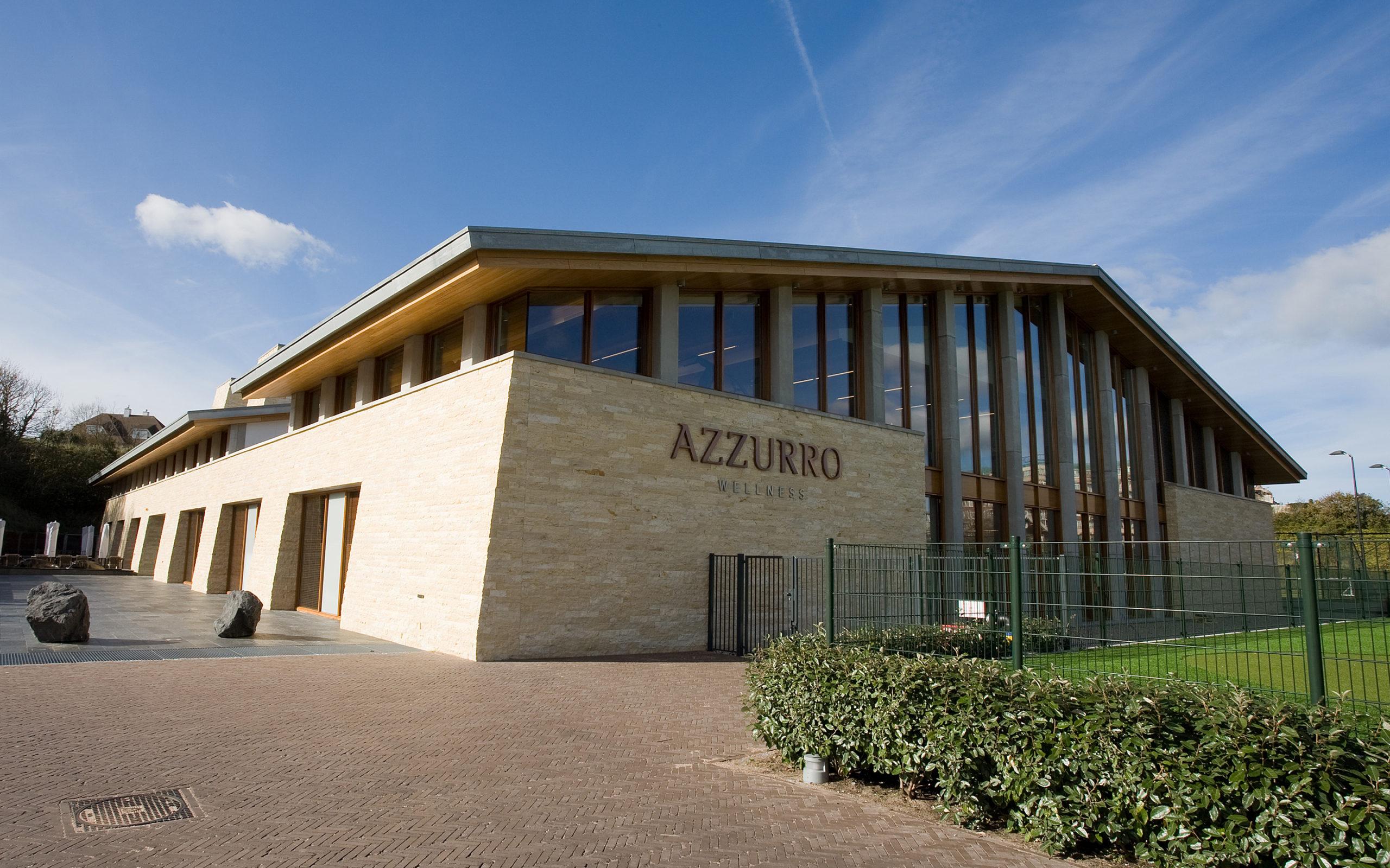 Azzurro Wellness is gebouwd door Van der Wiel Bouw