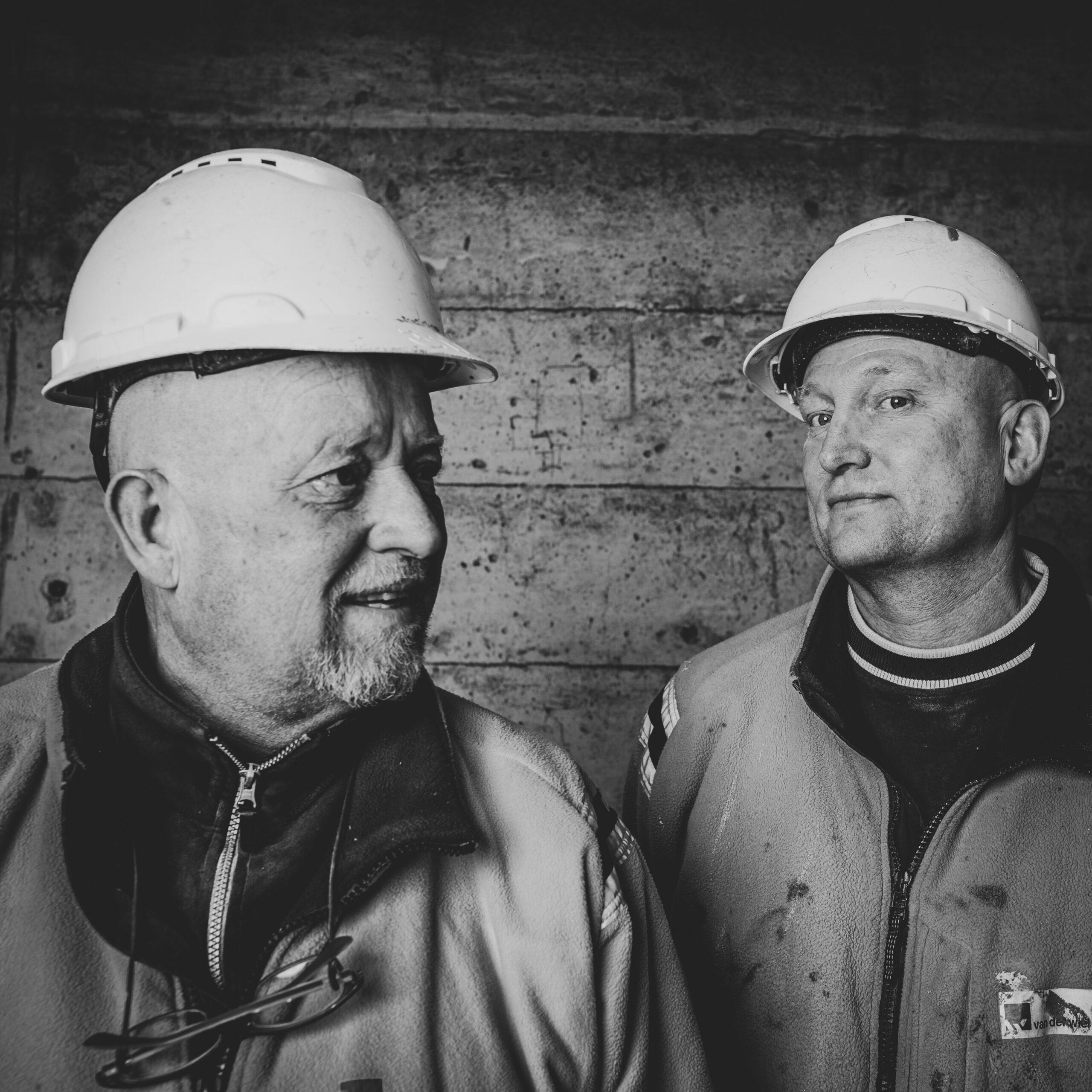 Werknemers Van der Wiel Bouw