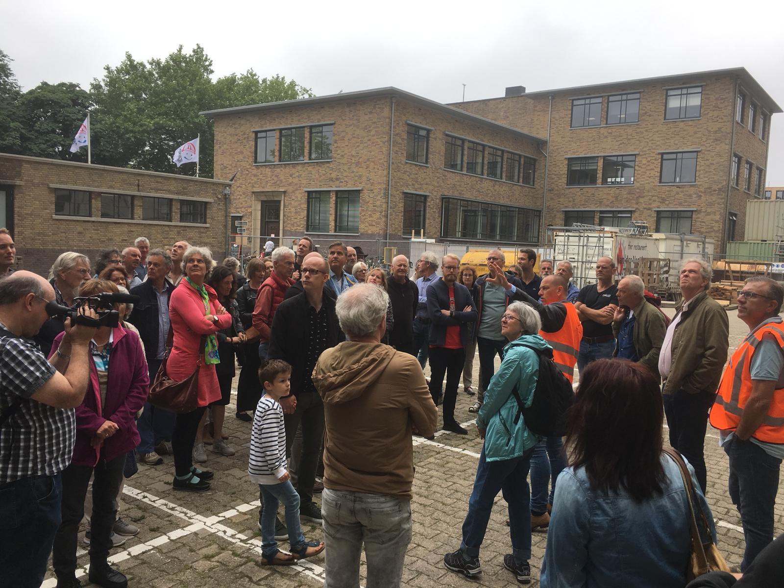 Dag van de Bouw bij De Meelfabriek in Leiden met Van der Wiel Bouw