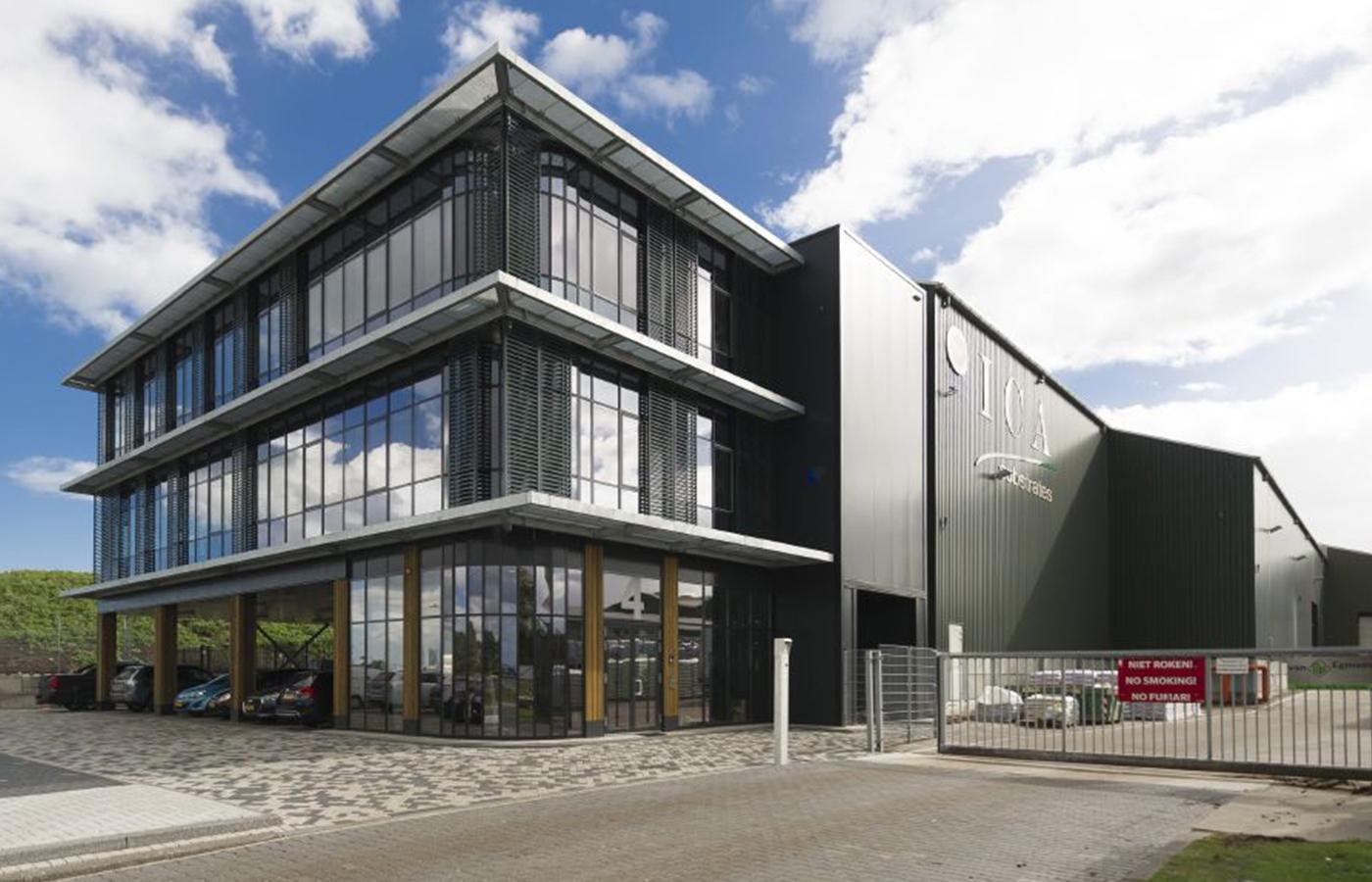 Kantoor Amsterdam gebouwd door Van der Wiel Bouw