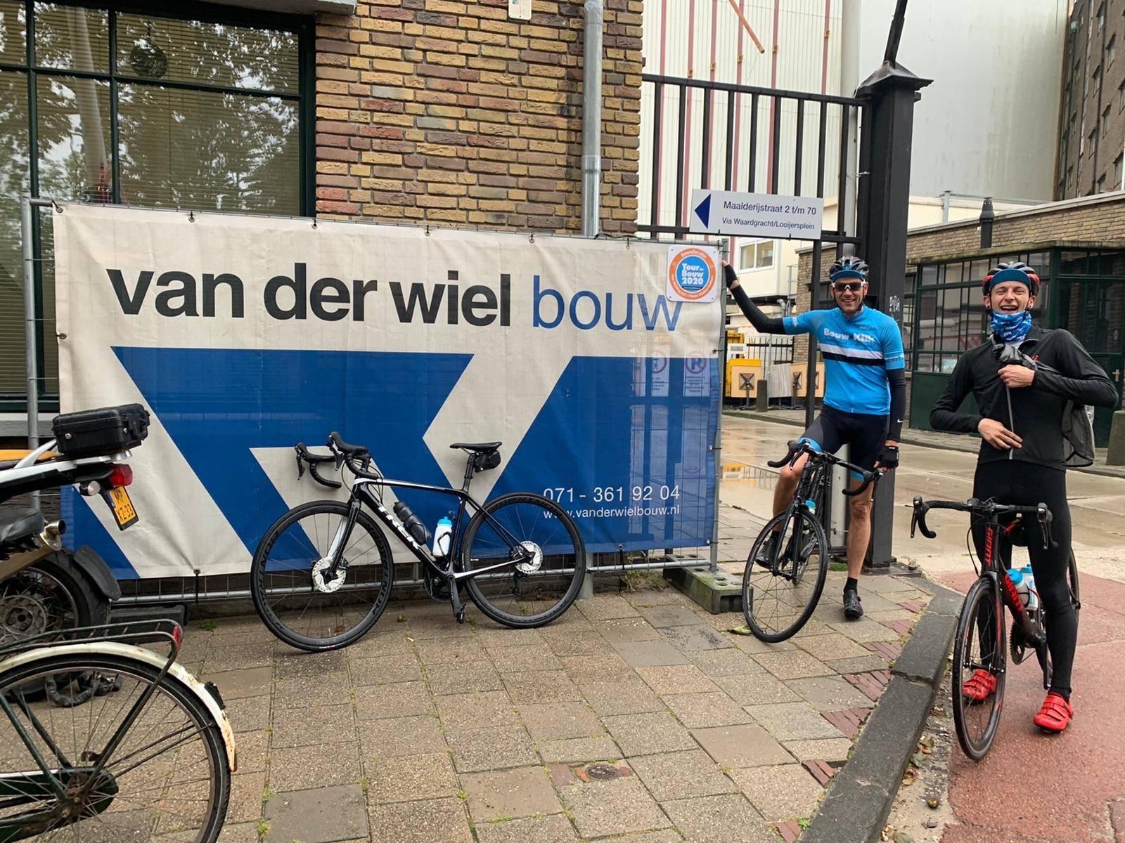 Tour de Bouw 2020 Van der wiel Bouw