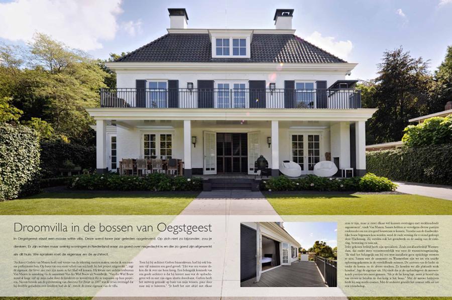 Villa Oegstgeest Van der Wiel Bouw